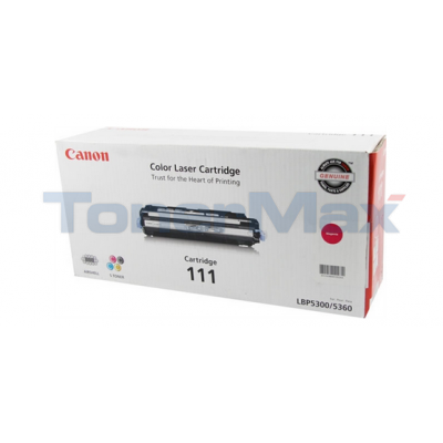 CANON CRG-111 LASER TONER MAGENTA
